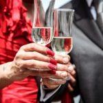 Ceremony Wedding Wine Man Woman